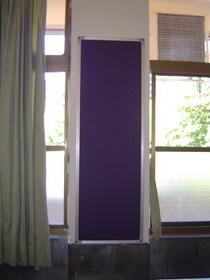 教室牆柱佈告欄